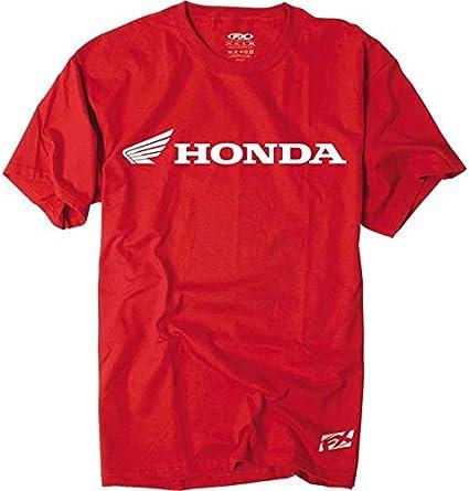 Factory Effex 15-88332 Honda Horizontal T-Shirt Red, Large