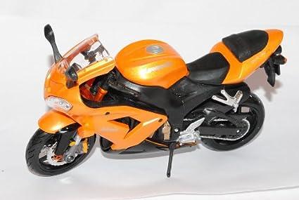 Kawasaki Ninja ZX 10R Orange 2004–20081/12Maisto modello Frecce con o senza individiuellem richiesta Targa Modellcarsonline