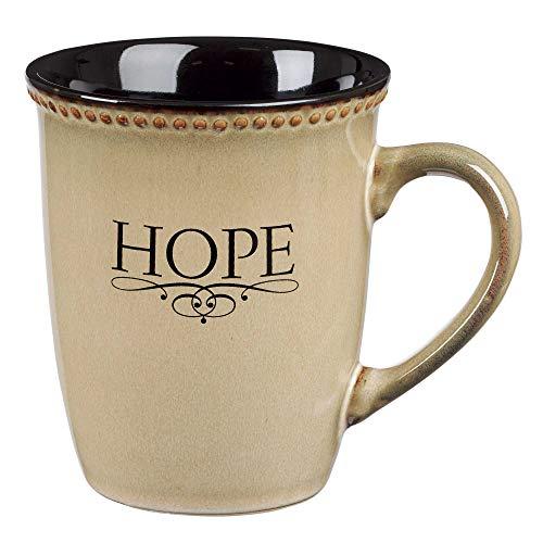 "Ivory ""Hope"" Verse Mug"