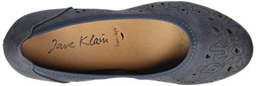 Jane Klain 223 740 Damen Pumps Blau (Jeans)