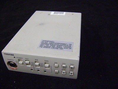 Toshiba Ik-Tu40A Color 3 Ccd Camera Controller Unit Control Head Ccu - No Camera
