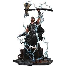 DIAMOND SELECT TOYS Marvel Gallery: Avengers Infinity War Movie Thor PVC Diorama Figure