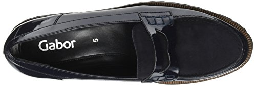 Ocean Mujer Moda Zapatillas Gabor 76 Azul Cognac XPpOq