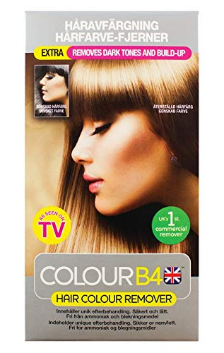 Colour B4 Hair Colour Remover Extra Strength for Darker Hair Colours - Nordic medichem