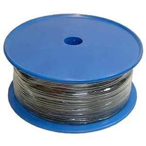 Cablematic - Bobina de cable de audio estéreo 92 pF/m de 100 m