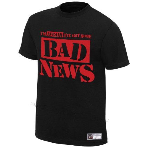 "Bad News Barrett ""Bad News"" Authentic T-Shirt, XL [Apparel]"