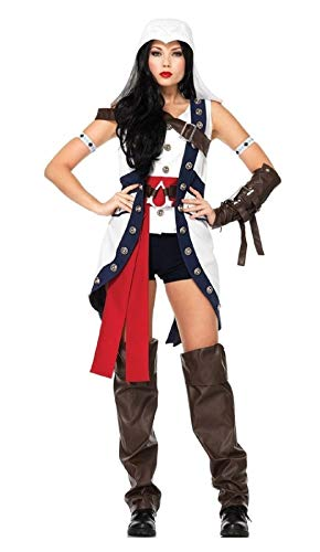 Assassins Creed Connor Girl Adult Womens Costume]()