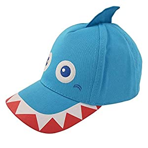 ABG Accessories Toddler Boys Cotton Baseball Cap with Assorted Animal Critter Designs, Age 2-4