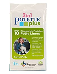 Kalencom Potette Plus On the Go Potty Liner Re-Fills 10-Pack BOBEBE Online Baby Store From New York to Miami and Los Angeles