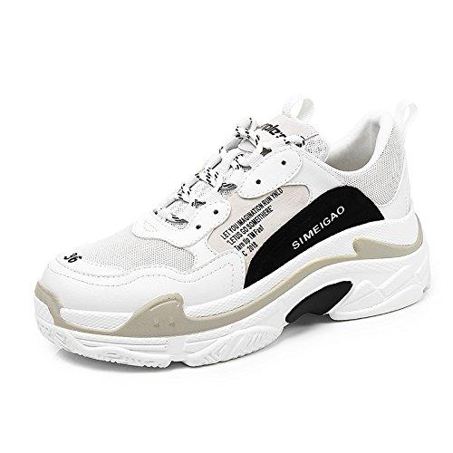 NGRDX&G Calzado Deportivo Para Mujer Calzado Blanco Para Mujer 36 36|White