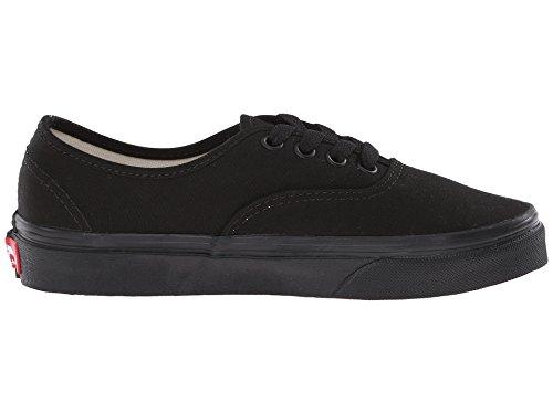 Black Men's Authentic Vans Canvas Shoe Black Black Black 0UnBxwH