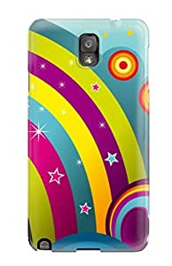 For Galaxy Note 3 Premium Tpu Case Cover Artistic Protective Case