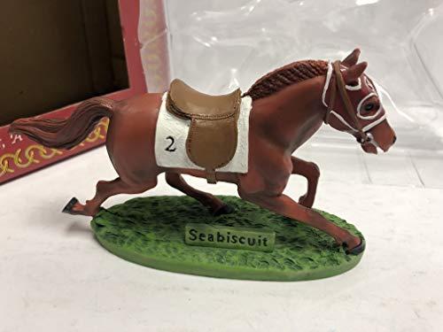 "Seabiscuit Horse Racing Legend Hartland Statue Collectible 6"" Figure"