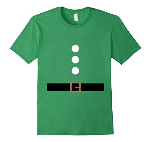 Homemade Halloween Elf Costumes (Mens Cute Christmas Elf Gnome Dwarf DIY Costume T Shirts Medium Grass)
