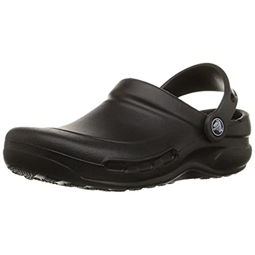 Crocs Unisex Specialist Clog, Black, 10 US Men / 12 US Women