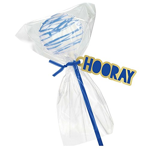 - Amscan Lollipop Kit, Treat Pop Kit, Party Favors, Bright Royal Blue, One Size, 95ct