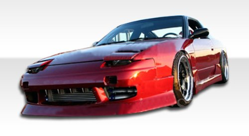 1989-1994 Nissan 240sx 2DR Duraflex U Kit - Includes Type U Front Bumper ( 103547), Type U Rear bumper(104239) , and Type U Sideskirts (103548) . - Duraflex Body ()