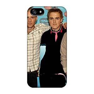 Perfect Hard Phone Cases For Iphone 5/5s With Allow Personal Design Colorful Mcfly Band Pattern JasonPelletier