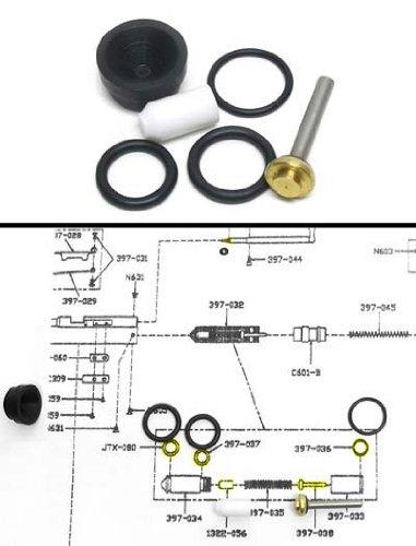 Benjamin & Sheridan Repair Kit, passt einige post-1995 multi-pumps W Kartusche Ventil von pyramyd Air