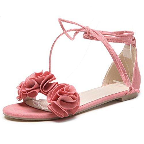 Rosa Donna Eleganti Sandali Scarpe 28 Coolcept Piatti fwqgXF