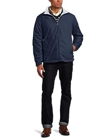 Nautica Men's Big-Tall Vineyard Reversible Jacket, Navy, 2X