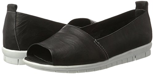 schwarz Andrea Mocassins 002 Conti Femme 0023535 Noir X1PFz