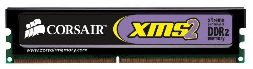 Corsair Ddr2 Memory - Corsair XMS2 2GB (1x2GB) DDR2 800 MHz (PC2 6400) Desktop Memory