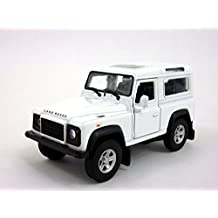 Land Rover Defender 1/32 Scale Diecast Metal Model - WHITE