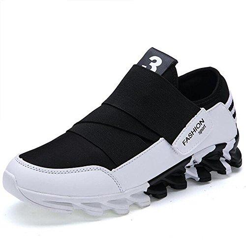 Mr. LQ - Zapatos de los deportes de la manera del hombre White