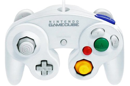 Official Nintendo White Classic Gamecube Controller (Cube Twin)