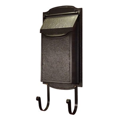 Vertical Wall Mounted Mailbox Color: Oil Rubbed Bronze