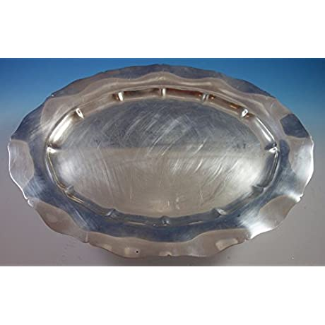 Standish By Gorham Sterling Silver Platter 20 40601 Heavy 60 6 Ozt 1852
