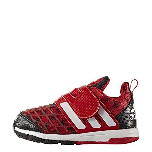 adidas Marvel Spider-Man Cf I, Sneakers Basses Mixte Enfant, Rouge (Escarl/Negbas/Ftwbla), 20 EU