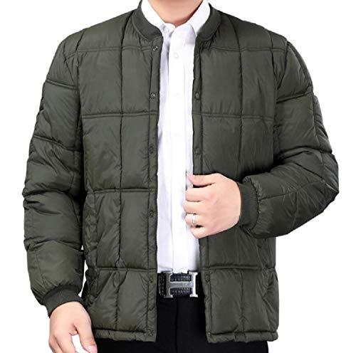 Packable Coats Army Outdoors Men Jackets Puffer TTYLLMAO Lightweight Green Down Windproof ScfHnU