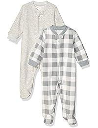 Boy's Baby 2-Pack Microfleece Sleep and Play