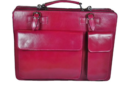 Aktentasche Laptoptasche Dokumententasche Aktenkoffer Pink