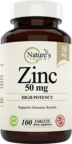 Zinc 50mg High Potency