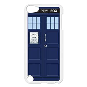 Classic Case Doctor Who pattern design For Ipod Touch 5 Phone Case