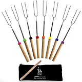 anytime family Extending Marshmallow Roasting Sticks-Set of...