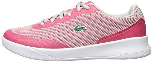 Lacoste Women's LT Spirit 317 3 Sneaker, Pink/Grey, 7.5 M US