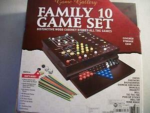Game Gallery Family 木製ゲーム10点セット B07PSGG2NR