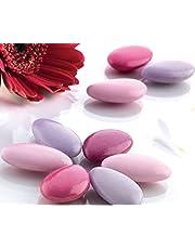 1kg Dragées chocolat - Variation rose