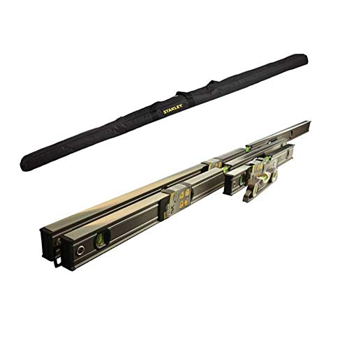Stanley Fatmax Pro Box Beam 4 Piece Level Pack 6ft 4ft 2ft Torpedo and Level Bag