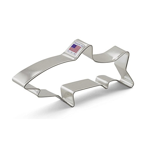 Ann Clark Shark Cookie Cutter - 5.75 Inches - Tin Plated Steel