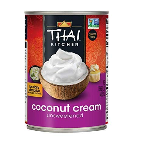 Gluten Free Coconut Cream, 13.66 fl oz (4 pack) by Thai Kitchen