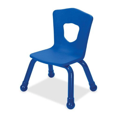 Balt Kids Chair with Steel Frame, 9-1/2-Inch, Royal Blue -