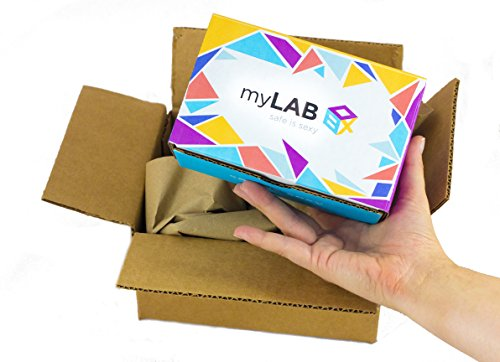 myLAB Box at Home STD Test for Men Discreet Mail In Kit Lab Certified Results In 3-5 Days (Chlamydia/HIV/Gonorrhea/Trichomonas's),12601 by myLAB Box