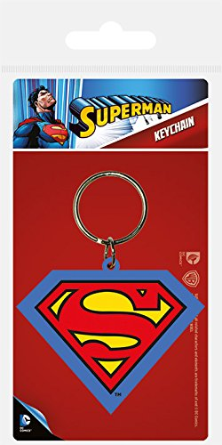 Pyramid International DC - Llavero Superman Shield: Amazon ...