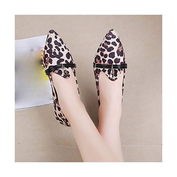 codice promozionale 7207a 522a8 FRAUIT Scarpe Donna Eleganti Decollete Leopardate Scarpe ...