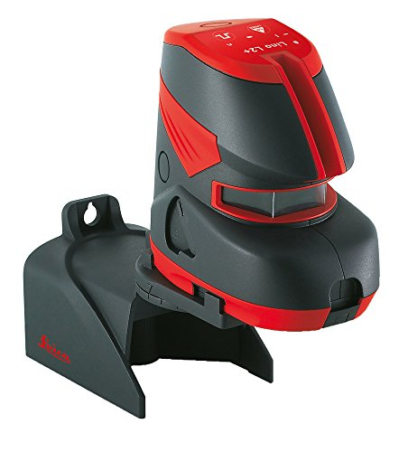 (Leica L2+ Cross Line Laser Self Leveling Horizontal Vertical 180-Degree, Red)